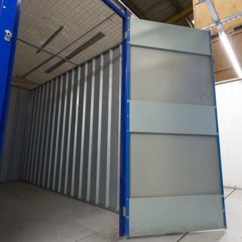 Secure External Storage Container